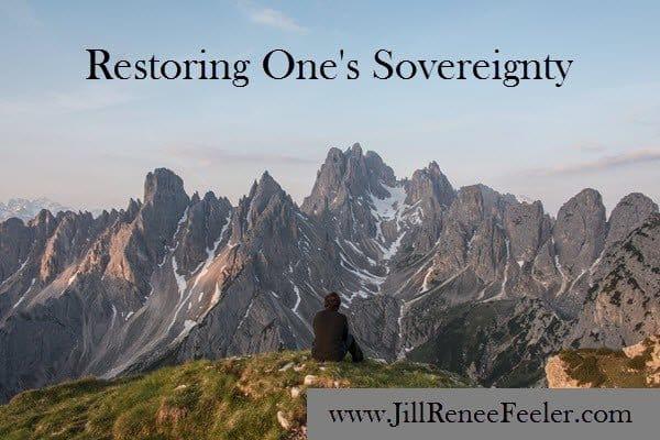 Restoring One's Sovereignty