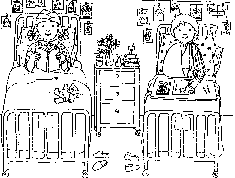 Hospital-Coloring-Page