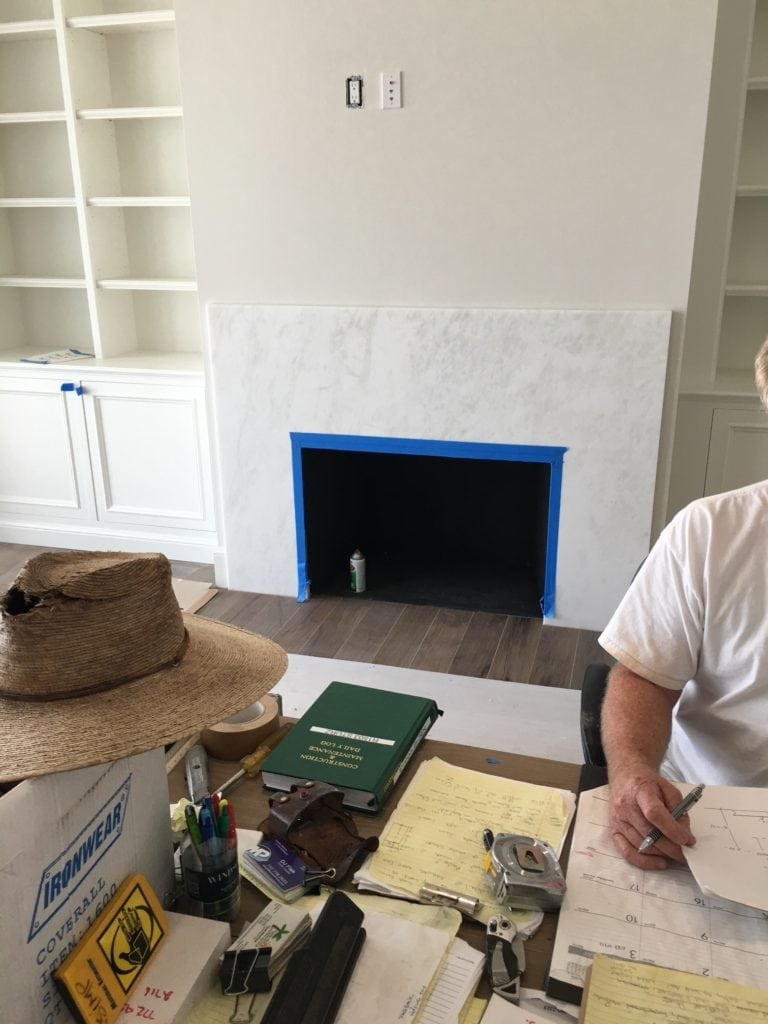 During Construction New Home Orchid Island Jill Shevlin Design Vero Beach Interior Designer