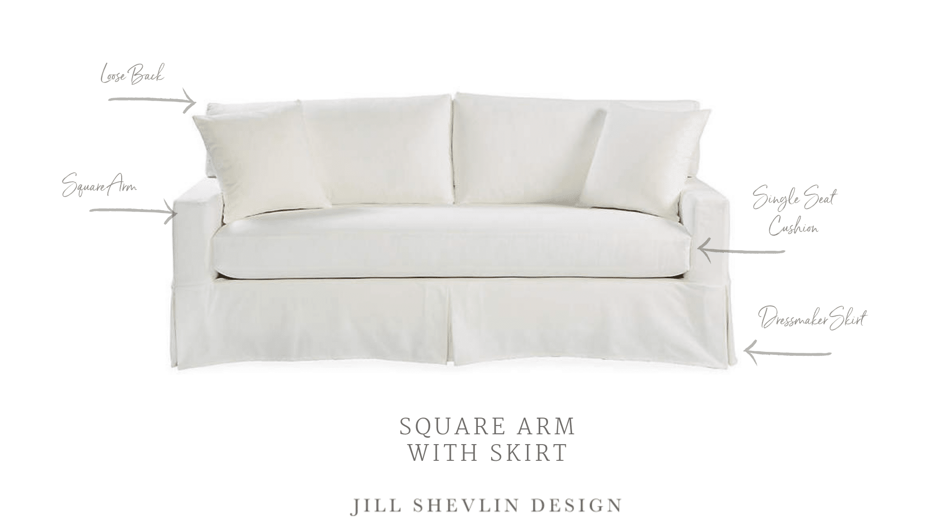 top 5 sofa styles jill shevlin design