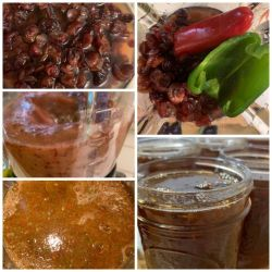 Cranberry and Hot pepper Jelly