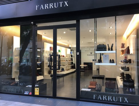 Farrutx shoe store Valencia Spain