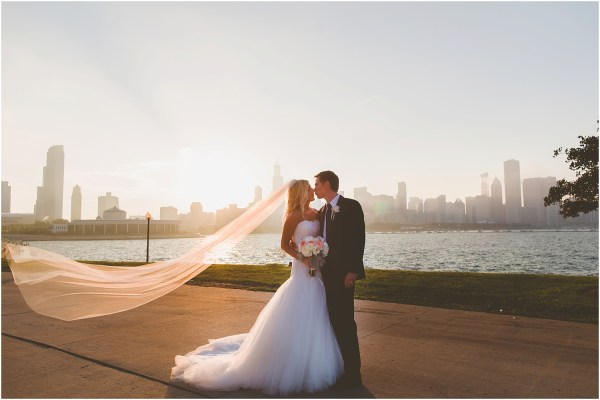 Ashley Connor Adler Planetarium Wedding Chicago
