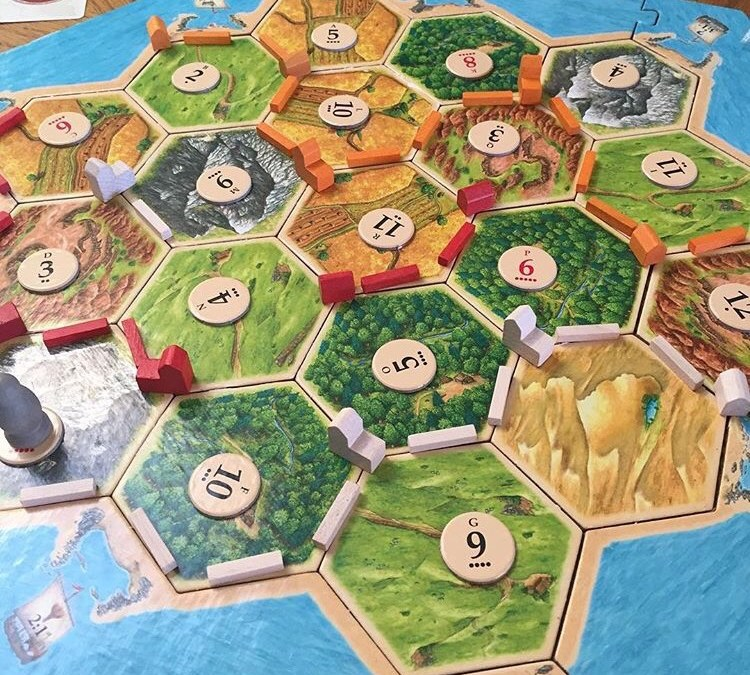 settlers of catan: a family favorite