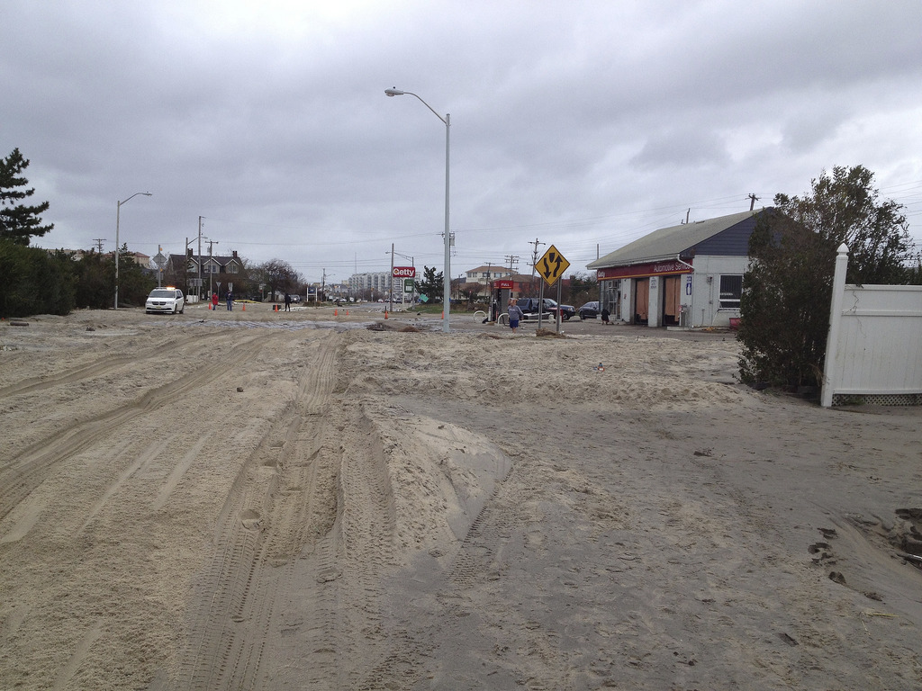 monmouth beach hurricane sandy