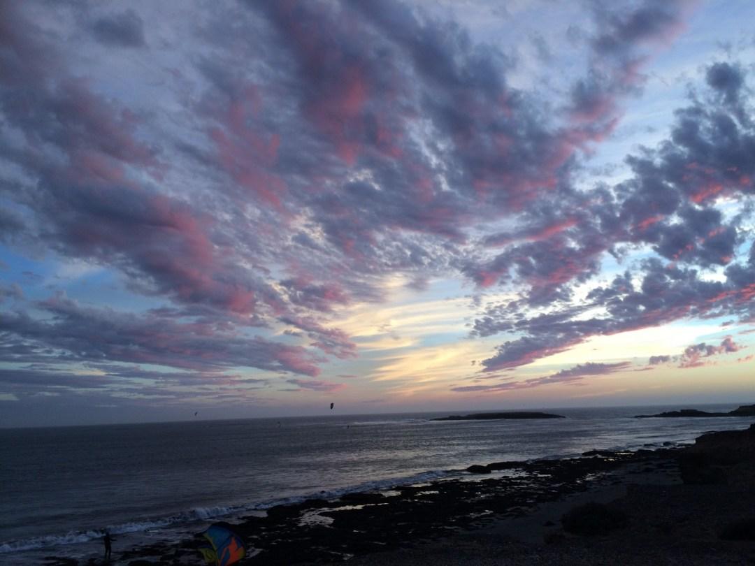 coast sunset punta san carlos