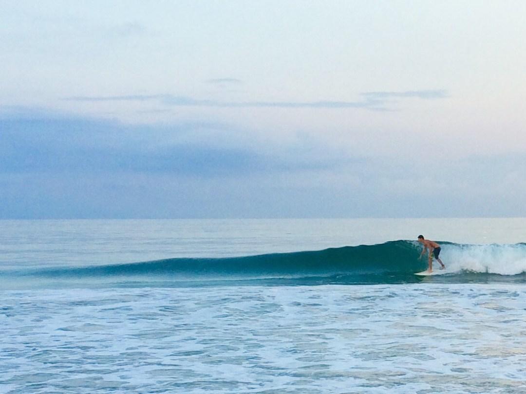 surfing rancho banderas punta mita