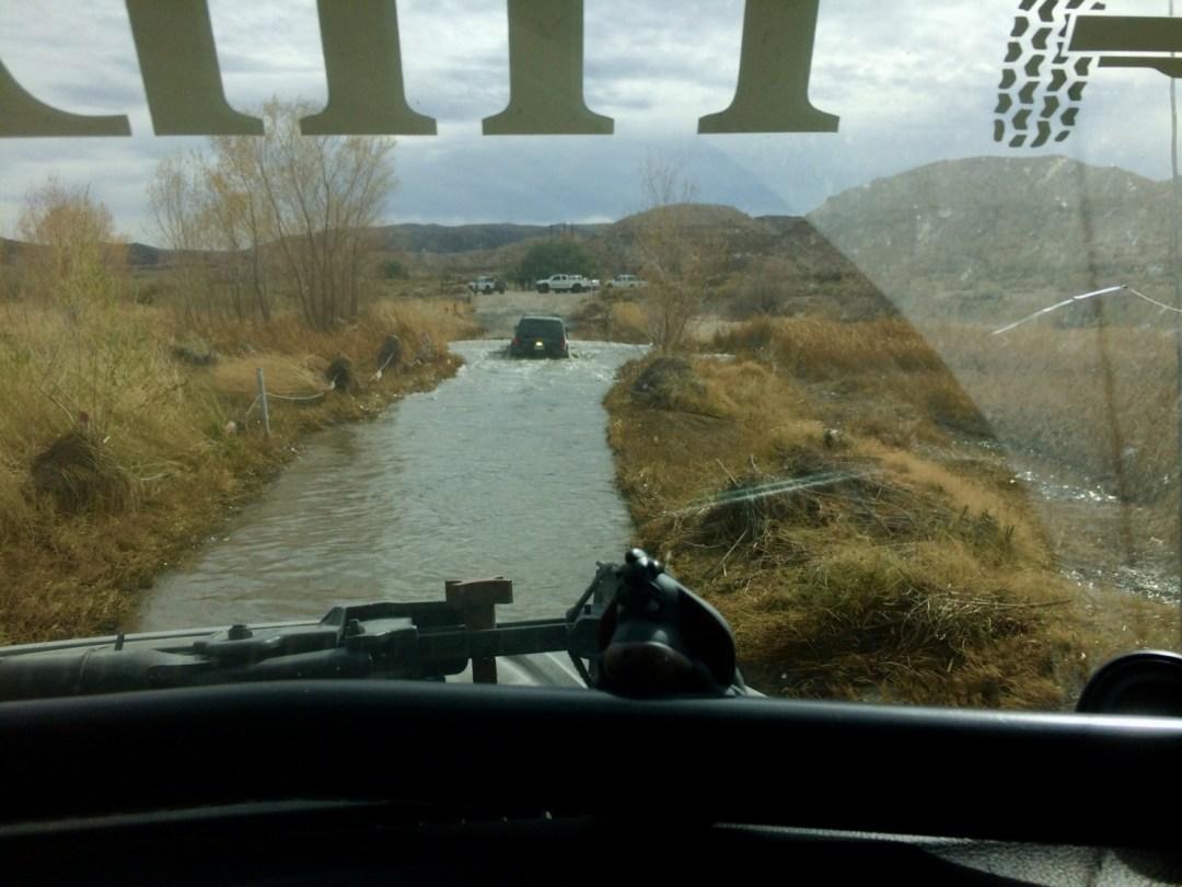 Mojave Trail river crossing