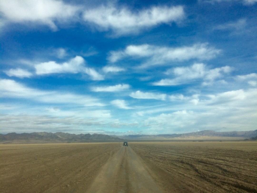 Mojave Trail Devil's Playground salt flats