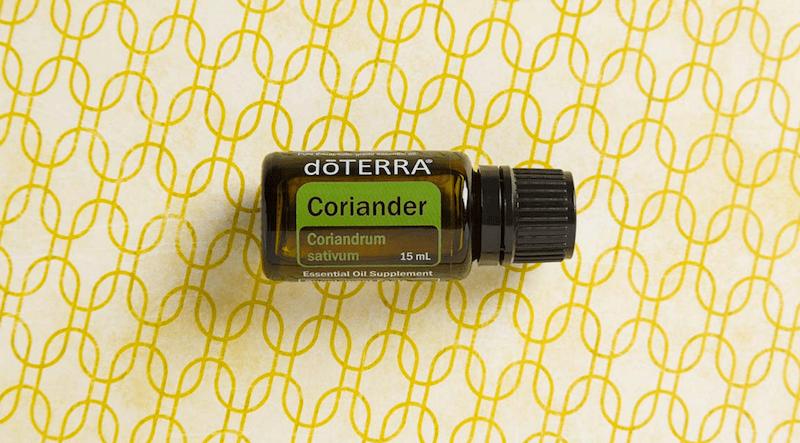 coriander essential oil doterra jillwiley