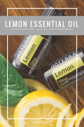 lemon essential oil doterra jillwiley