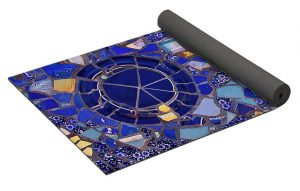 Decorative Yoga Mat Rolled