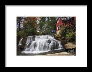 Waterfall Framed Art