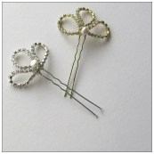 jillymacdesigns | Elena wedding hairpins