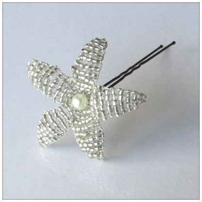pin clear flower