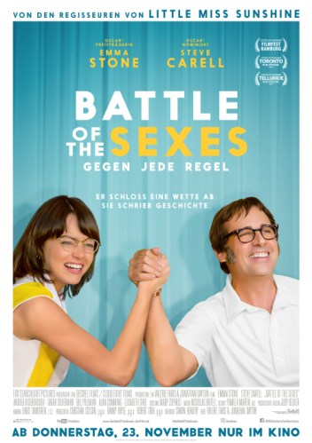Battle of the Sexes - Gegen jede Regel ab 23. November im Kino
