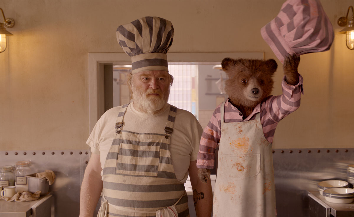 Kunckles McGinty und Paddington in Paddington 2