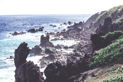 Black Rocks auf St. Kitts