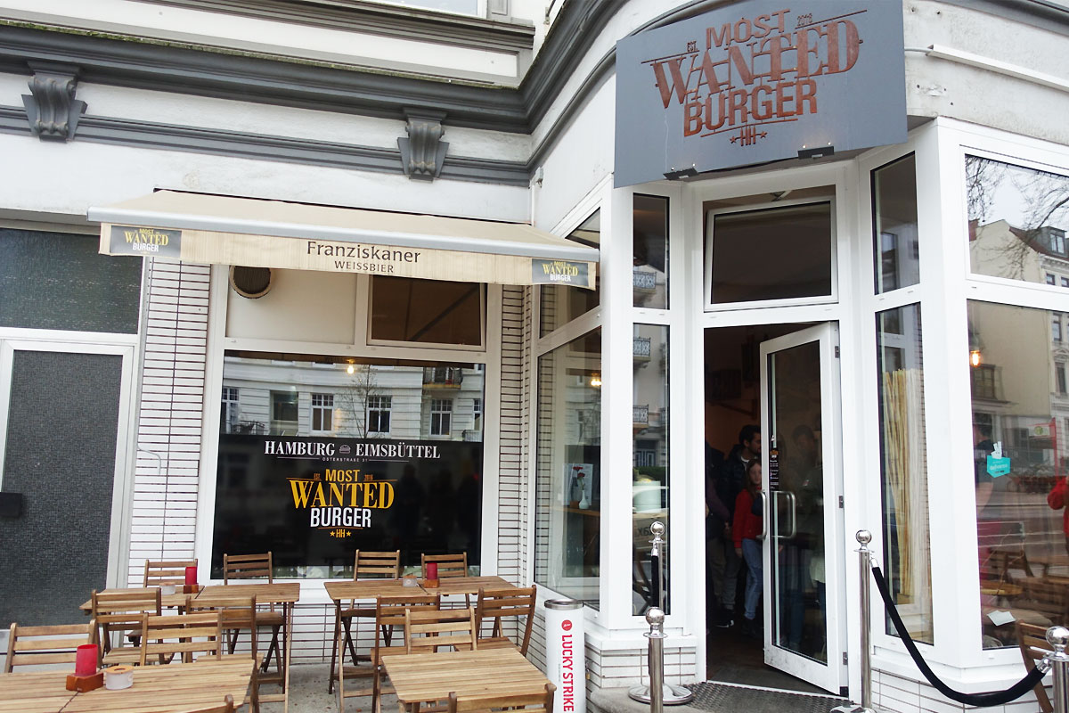 Most Wanted Burger in Eimsbüttel