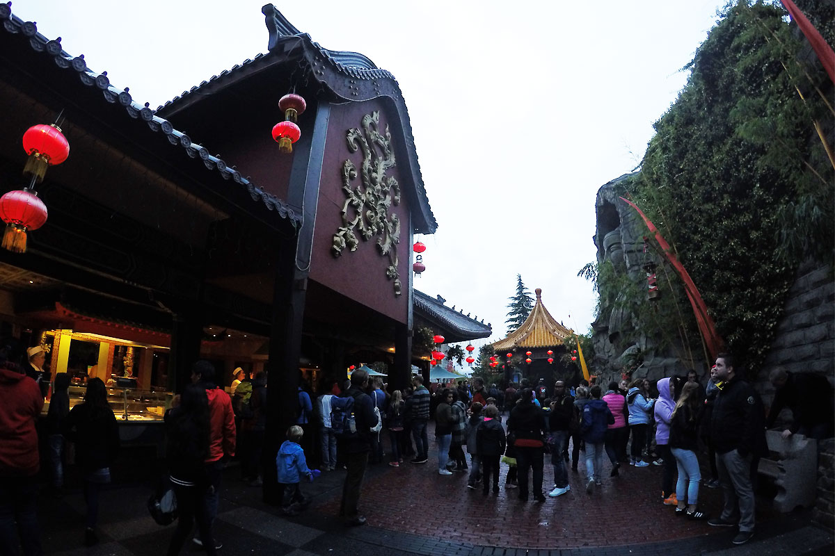 Themenwelt China Town im Phantasialand