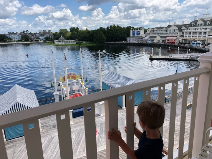 August trip report ! – Day 1 – Boardwalk arrival, Skyliner, Garden Grill (Epcot Day)