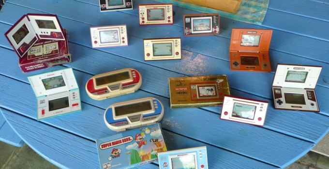 Nintendo Game Watch 80s 90s
