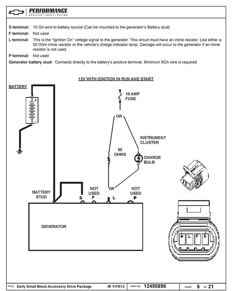 Gm Alternator Wiring : alternator, wiring, Model, Alternator, Wiring, Question, Present, Chevrolet, Truck, Message, Board, Network