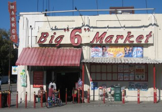 Big 6 Market, I liked the letters