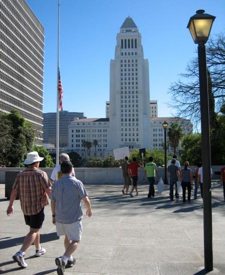 Los Angeles City Hall. Photo by Jimbolaya