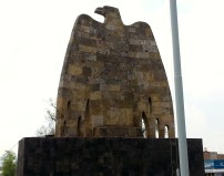 Stone Eagle Monument in GDL.