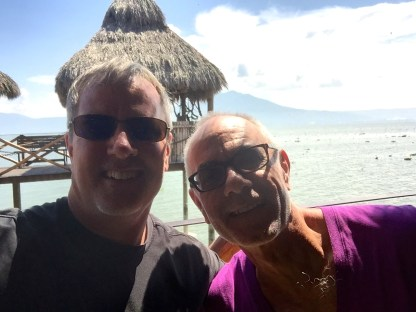 Dave Arnold and I at Chapala (Ajijic)
