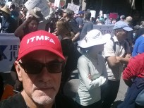 blogger in the red ITMFA hat