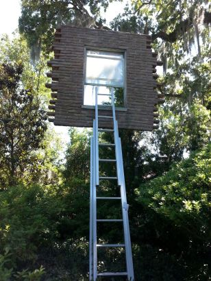 Leandro Erlich: Window with Ladder: Too Late for Help