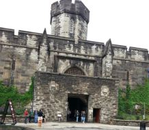 Eastern State Penitentiary (can you say haunted)