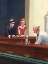 Hopper: Nighthawks detail.