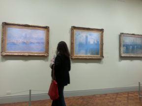 Impressionist collection (Monets?) Art Institute
