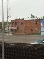 Across the tracks in Montana, Oil City Bar.