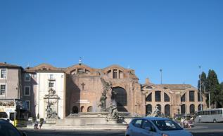 1085 Across from my Hotel - Santa Maria degli Angeli e dei Martiri
