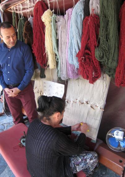 782 Turkish Carpet Weaver