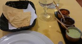 1383 Indian Dinner - Naan, kind of