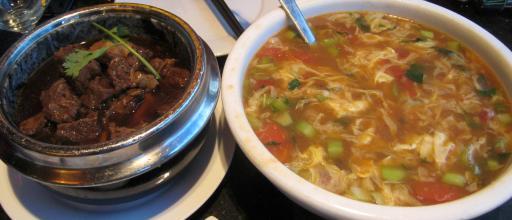 1869 Dinner - Beef in Brown Sauce, Soup