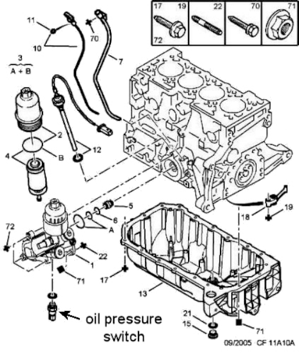 Peugeot 1007; 1.6 engine; 1587cc engine