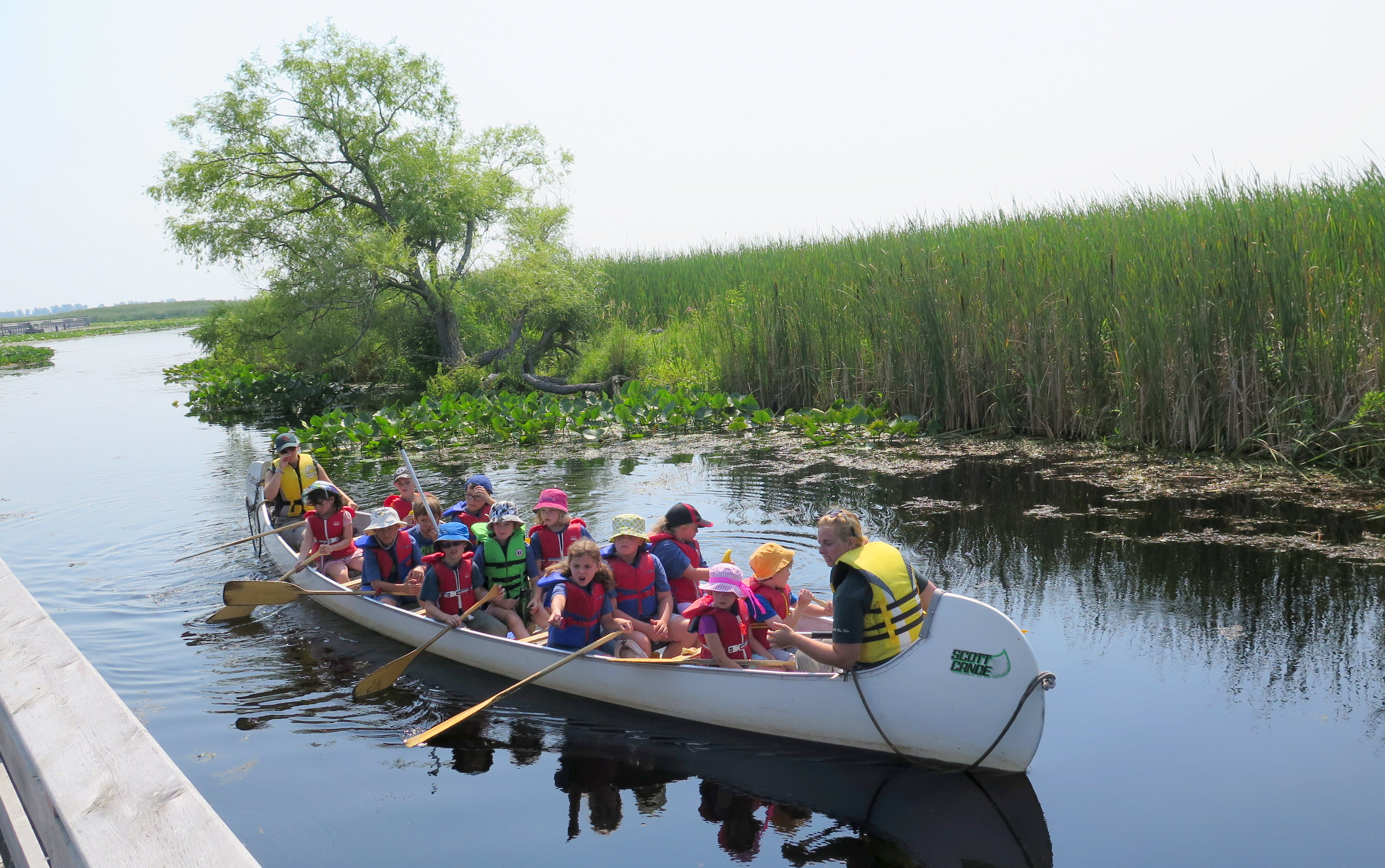 Point Pelee National Park is the southernmost point in Canada. It's a great spot for boating, bird-watching and enjoying nature up-close. JIM BYERS PHOTO