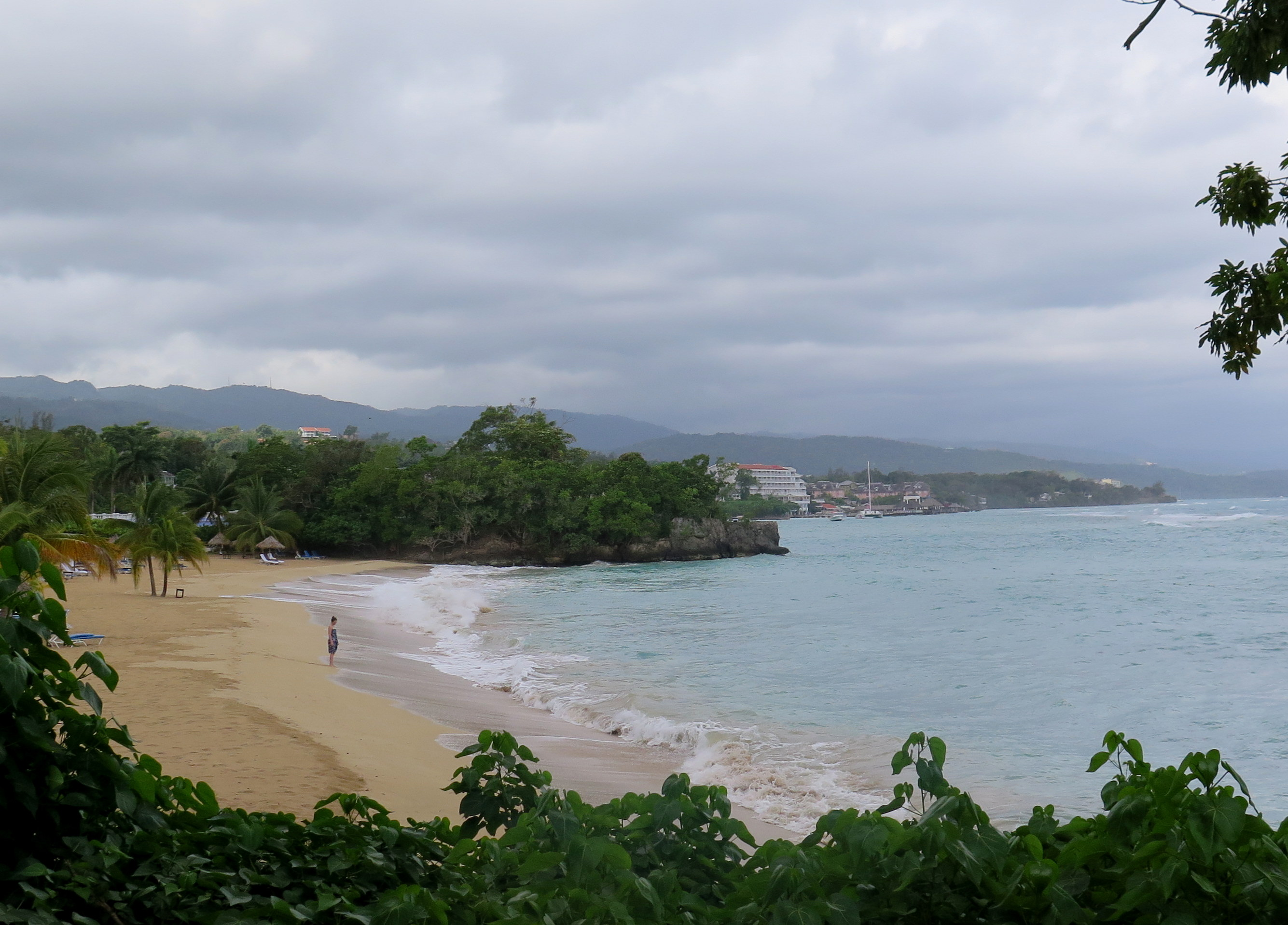 The beach at the Jamaica Inn in Ocho Rios is vastly superior to Negril.