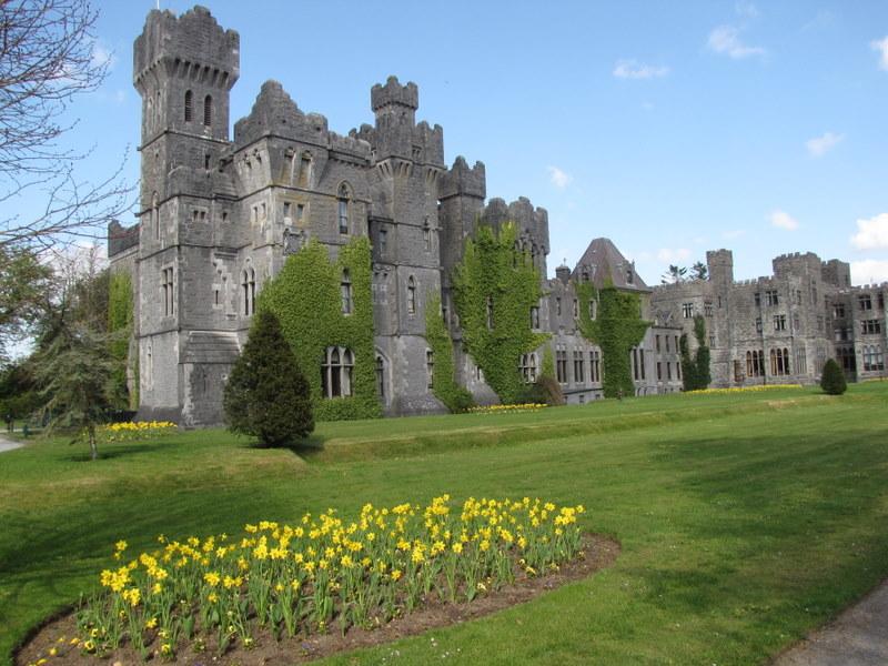 Ashford Castle in Ireland would be a great wedding or honeymoon spot.