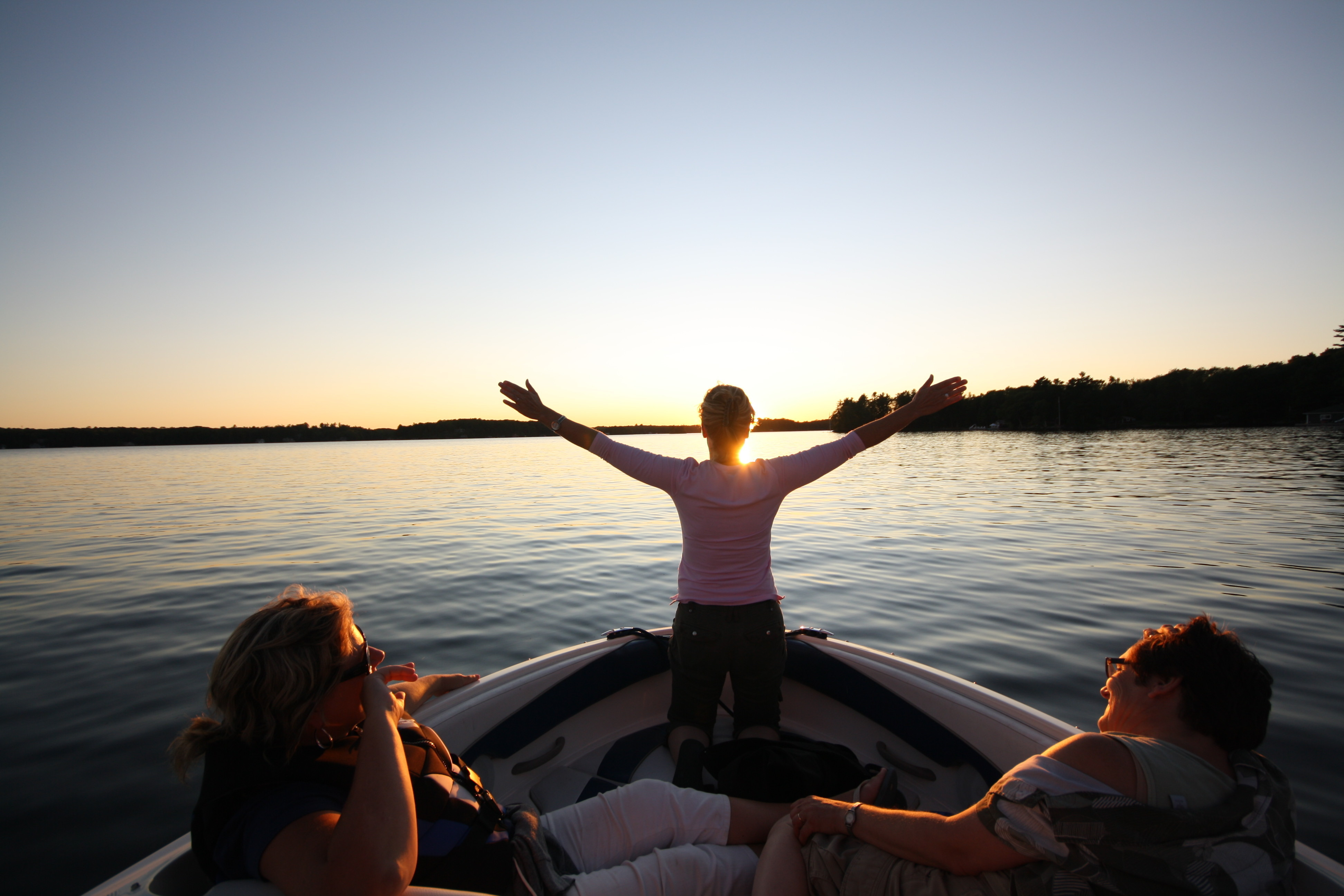 Celebrate a perfect day in Muskoka with a sunset boat ride. There's no finer way to spend an evening in this magical part of Ontario.