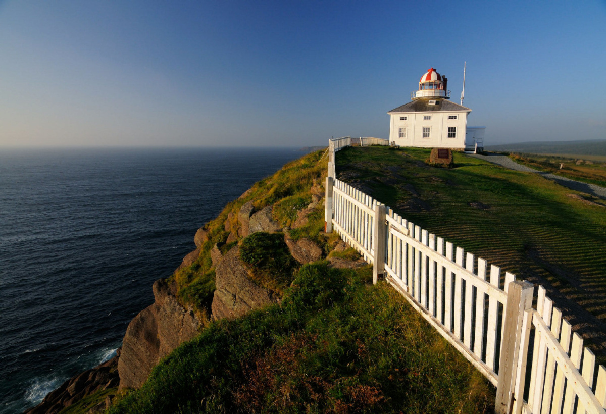 Cape Spear is the most easterly point of land in North America.