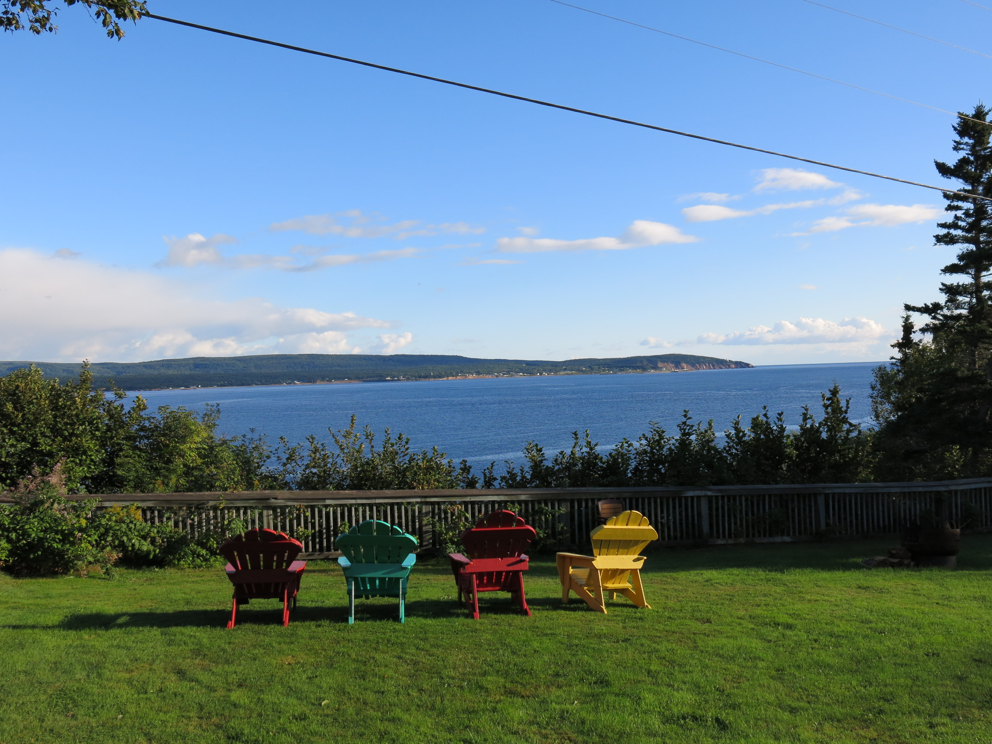 Stop in at Keltic  Lodge on Cape Breton for fine views and a lovely ambience. JIM BYERS PHOTO