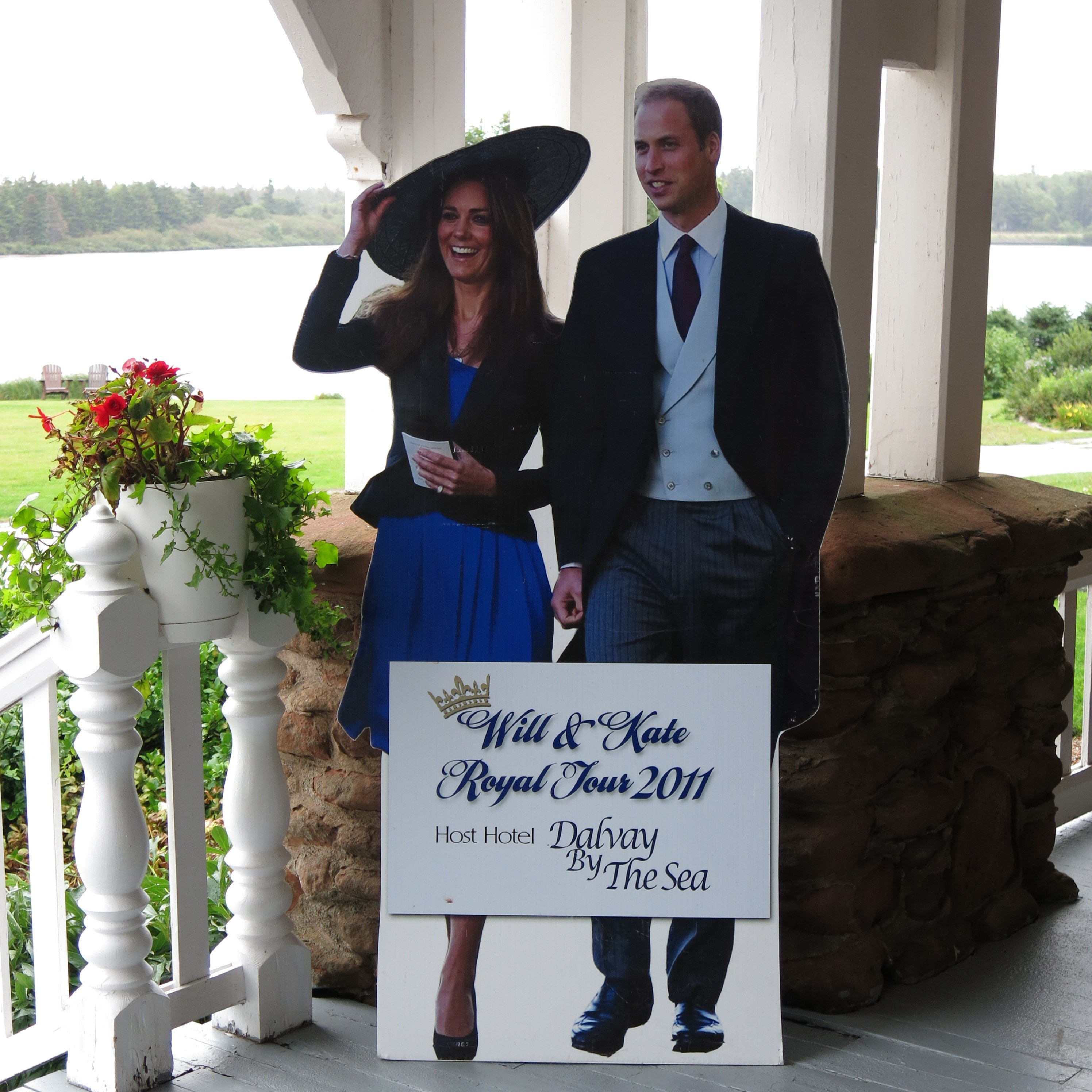 Will and Kate made a big splash during their visit to Dalvay by the Sea PEI a few years back.