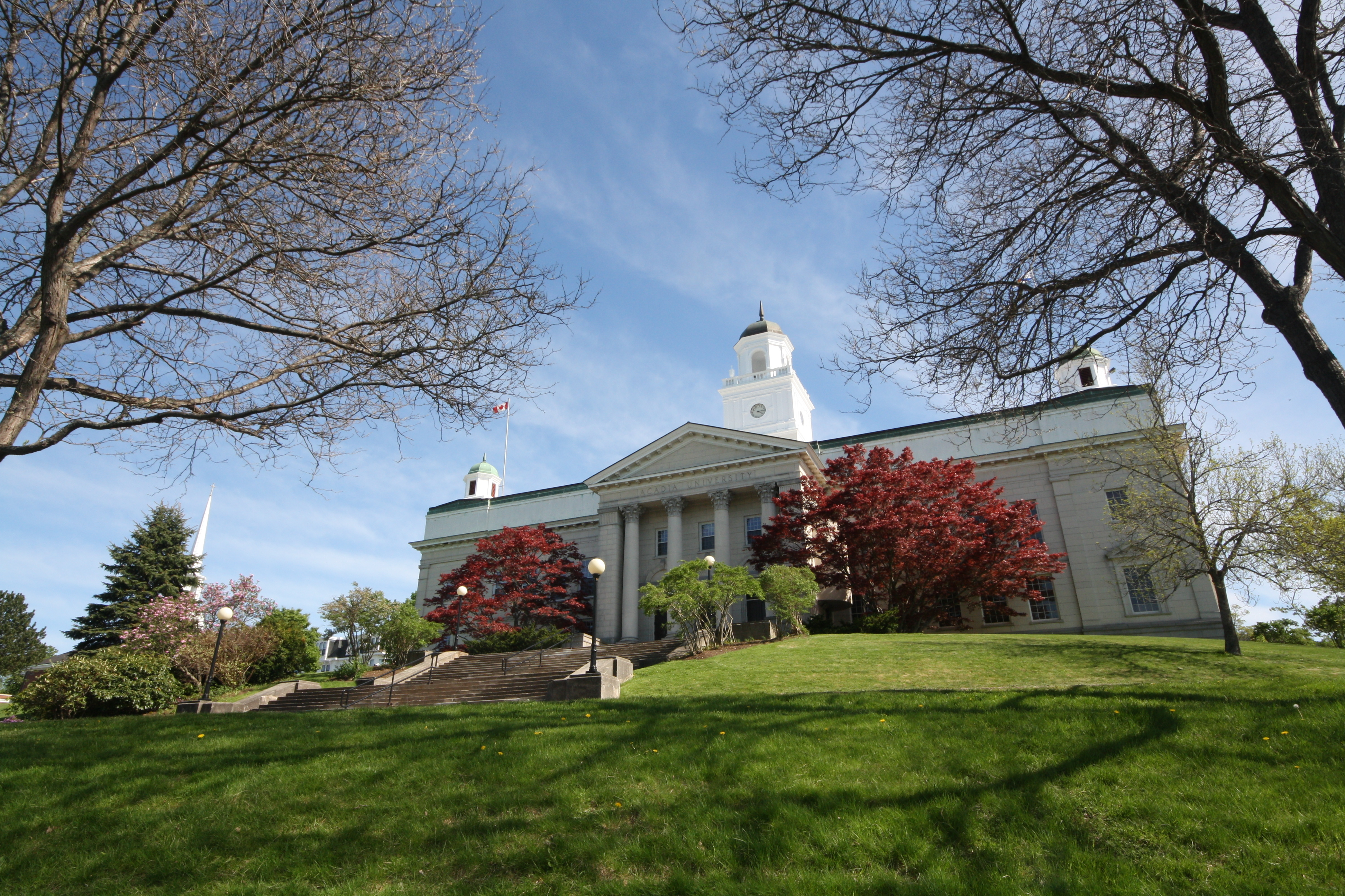 Acadia University is a lovely spot in Wolfville. JIM BYERS PHOTO